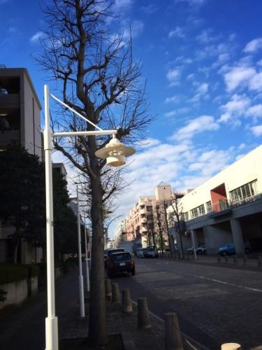 ルイスポールセンの街灯