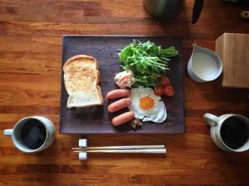 ワンパターンの朝ごはん