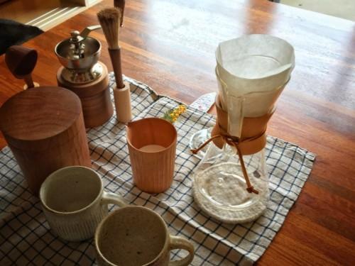 我が家のコーヒーセット