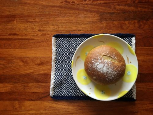 ブーランジェリーdodoさんのたたみあんパン
