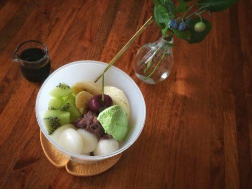 みつ豆の豆はキライ