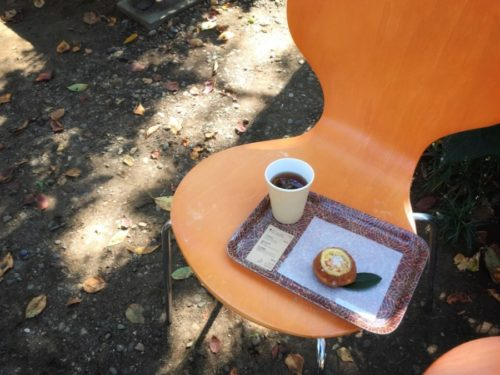 トキニワカフェのケーキセット