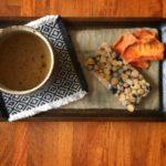 豆板と柿日和