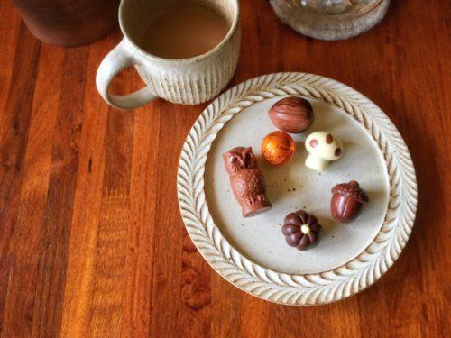 レオニダスさんの秋のチョコレート