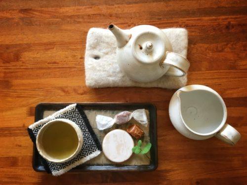 美味しい無農薬のお茶は湯冷ましで