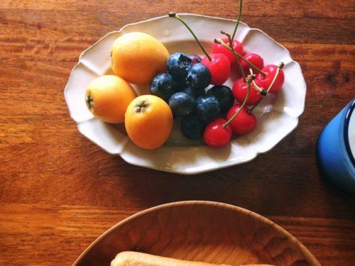 旬の果物は爽やか