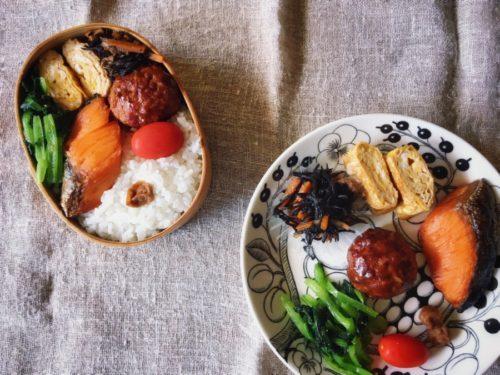 今日のお弁当とじぃのひと皿ランチ