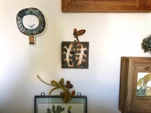 オガサワラマサコさんの小鳥と木