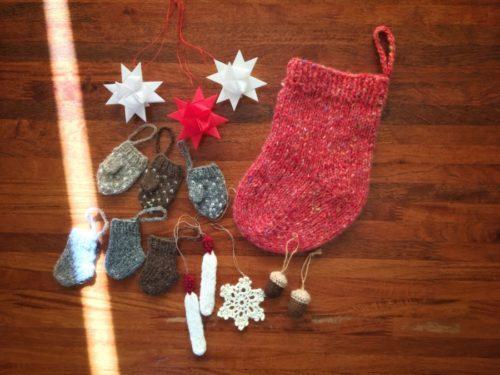 クリスマスの後片づけ