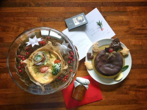 クリスマスケーキは今年もマンマミーアさんのノエルディナー