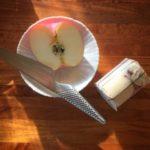 毎朝のりんご