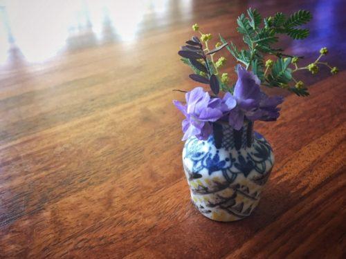つちやまりさんの小さな小さな花びん