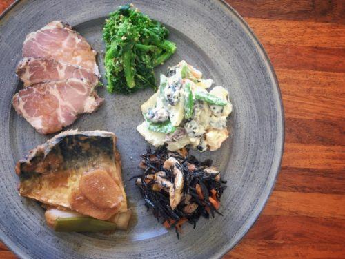 ゴマ鯖の味噌煮