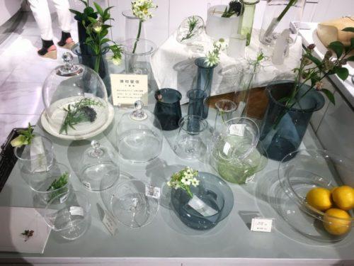 津村里佳さんのガラスも人気でした