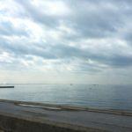 穏やかな春の海