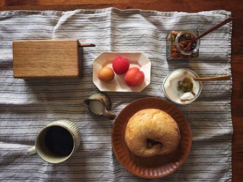 寒い朝には温かいコーヒー
