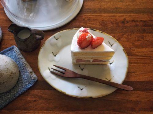 いちごのショートケーキもカワイイ♡