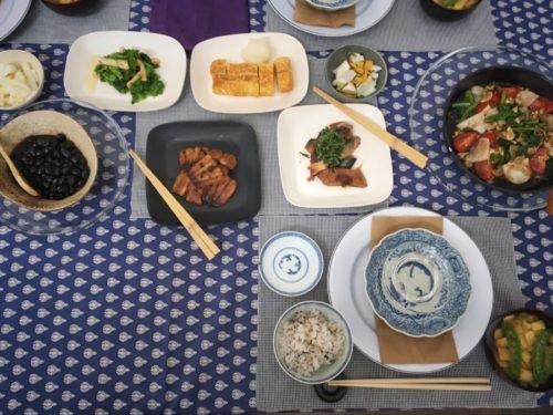 今日は和食の会