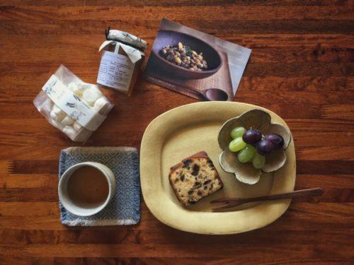 パティスリーミアさんのお菓子とコンフィチュール