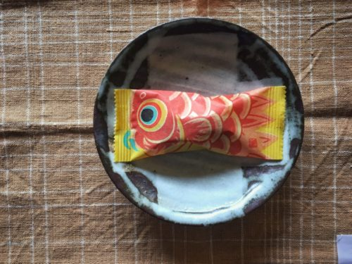 たねやさんのこいのぼりのお菓子